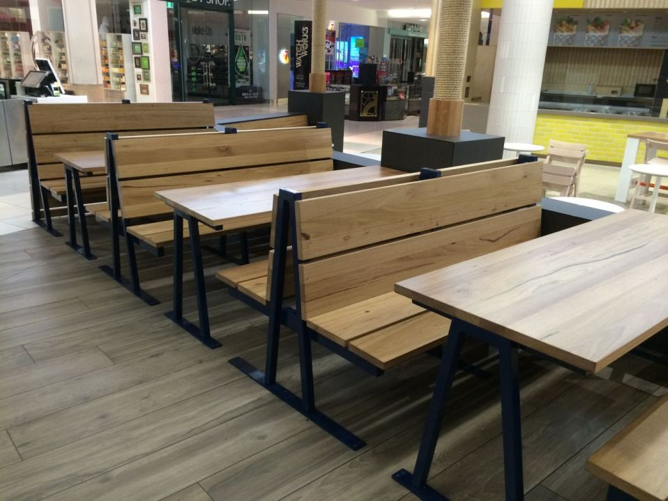 Pgr Bayside Shopping Centre Food Court Techne Custom